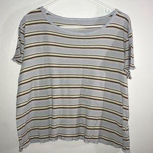 SO Crop knit Shirt